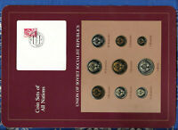 Coin Sets of All Nations USSR Russia UNC 1 Ruble 2,3,5,10,15,20,50 Kopecks 1979
