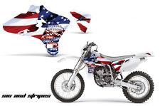 AMR Racing Yamaha YZ 250F/450F Shroud Graphic Kit MX Bike Decals 03-05 USA SINS