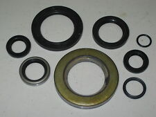 Triumph 500 twin engine oil seal kit complete seals set  UK Made early to 1974