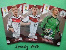 Panini PRIZM all 201 Base Cards Basis Karten komplett  FIFA World Cup 2014