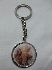 Porte-clés en métal - chien  SETTER IRLANDAIS