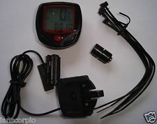 BIKE BICYCLE LCD CYCLE COMPUTER ODOMETER SPEEDOMETER ***NEW***