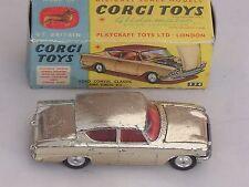 CORGI FORD CONSUL CLASSIC - RARE GOLD FINISH - VGC AND BOXED