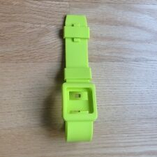 Lime Green Wristband Silicone Case Cover /LCD Protector For iPod Nano 6G 6th Gen