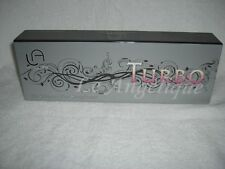 Le Angelique TURBO Ultimate Hair Straightener   Shiny Silver  NIB