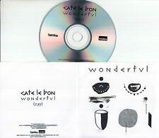 CATE LE BON Wonderful 2016 UK 1-trk promo test CD