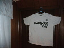 NEW ARRIVAL 1 Timberland t-shirt short sleeve white AUTH. REG: 1973 sz large NWT