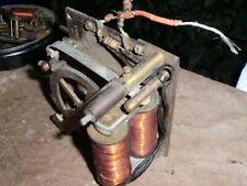 More details for clock parts untested antique ecs synchronome  movement 2 coils