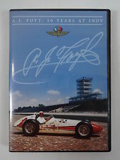 A.J. Foyt 50 Years at Indy 500 Commemorative DVD Collector's Edition Indy 500
