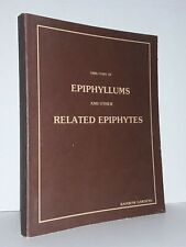 New ListingDirectory of Epiphyllums and other Related Epiphytes Large Paperback