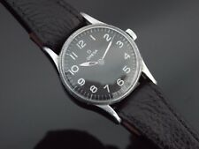 Digitale Vintage 1940's Omega ww2 Military Style Watch with Broad Arrow. 30t2 sc.