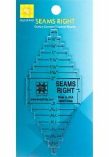EZ QUILTING SEAMS RIGHT QUILTING TOOL TEMPLATE, By Simplicity NEW