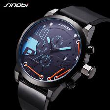 Mens Sport Chronograph Wrist Watches pulseras relojes hombre relogio masculino