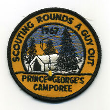1967 Prince George's Camporee Boy Scout Patch