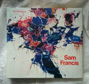 SAM FRANCIS Coffee Table Art Book (Selz, Peter) Abrams Hardcover w/ Jacket