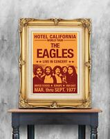 The Eagles Concert Poster, The Eagles Print, Eagles Modernised Gig Poster, Art