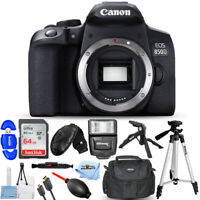 Canon EOS 850D / T8i / Kiss X10i DSLR Camera (Body Only) + 64GB + Flash Bundle