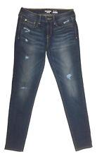 Levis Size 7 Denizen Distressed Blue Skinny Leg Jegging Jeans NEW FREE SHIP