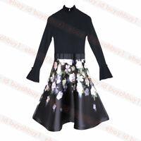 New Ted Baker NERIDA Opal Print Full Skirted Dress