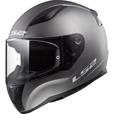 LS2 Helmet Bike Full-face Ff353 Rapid Mono Matt Titanium L