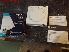 NEW Drayton RTS1 Room Thermostat Boxed 24001 UK Made