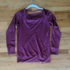 Ibex Women's Xs Long sleeve Top Dark Pink