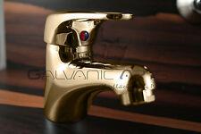 Armatur Batoni Gold Bi Color Waschtisch Einhandmischer Bad Edel
