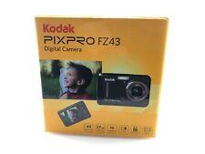 Kodak PIXPRO FZ43 16.2 Megapixel Compact Camera - Black - 2.7 LCD - 16:9
