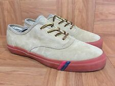 RARE🔥 Pro Keds By Mark McNairy Brown Suede Gum Soles Sz 9 Men Fashion Sneakers