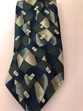 Honors Men's Neck Tie 100 percent Silk Business Wide USA Good Condition