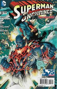 SUPERMAN UNCHAINED #3 DC COMICS 2013 BAGGED AND BOARDED