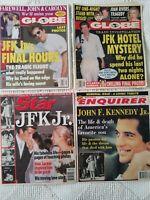 Lot of 8 JFK, Jr After Death Tabloids~Magazines Enquirer Star Globe Life People