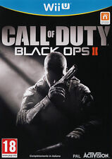 Call Of Duty Black Ops II Nintendo WII U IT IMPORT ACTIVISION BLIZZARD
