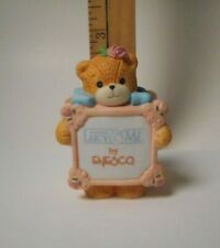 1991 Lucy & Me Bear - Cute Bear Holding Sign ~ Retired ~