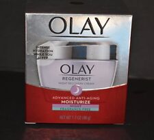 OLAY REGENERIST MICRO-SCULPING NIGHT CREAM ( FRAGANCE-FREE) 1.7 OZ