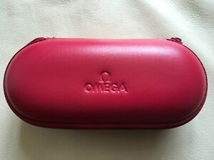 Genuine Omega Watch Travel Case with Foam Inserts