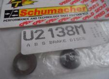 New Vintage Schumacher ABS Brake Discs U2138M