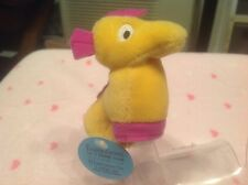 "Seahorse 3"" Finger Puppet Yellow Plush STARBUCKS Collectible"
