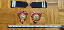 CROATIA FIREFIGHTERS EPAULETTES AND ARM PATCH MUP VATROGASTVO