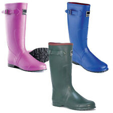 Toggi Lady Wander Wellington Boots Sizes 4 - 8 blue/green/pink