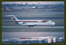 Orig 35mm airline slide Iberia DC-9-30 EC-BIS [212-1]
