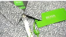 Hugo Boss Green Label  Sleeve Button Down Casual Shirt L Berla Slim Fit