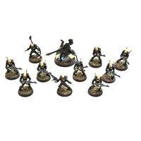 CRAFTWORLDS Ulthwe guardian defenders squad #2 WELL PAINTED Warhammer 40K Eldar