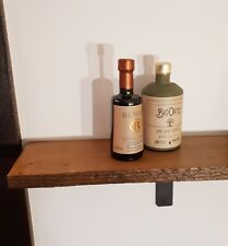Rustic, solid, antique pine shelves, industrial + 2 brackets, not scaffold board