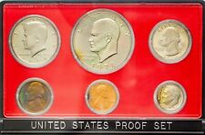 1978-S USA PROOF SET 6 COINS GEM CHOICE TONED UNC BU COLOR BEAUTIFUL (DR)