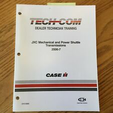 Case International IH TECH-COM JXC MECH &POWER SHUTTLE TRANSMISSION GUIDE MANUAL