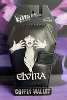 Elvira Mistress of the Dark Coffin Wallet New W/Tags Kreepsville