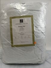 New Concierge Collection Feather Bed Mattress Topper Extra Deep Queen 60x80