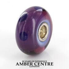 Genuine Trollbeads Silver 925S LAA Charm Purple Dot 61331 RRP£30!!!