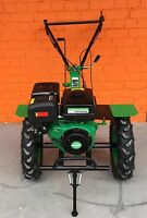 Two wheel tractor Tiller 16HP 12kW with big wheels warranty ploughs petrol NEW
